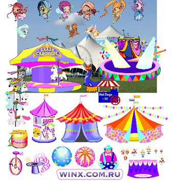 Обставить комнату: игры Винкс для девочек: Страница 3