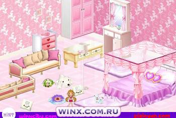 Винкс игры мебелью